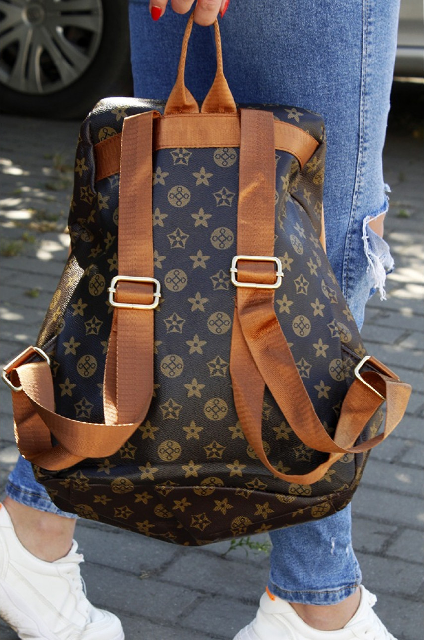 Рюкзак  LV темно-коричневый 281-2