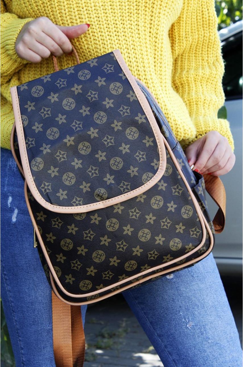 Рюкзак LV темно-коричневый 2015-2