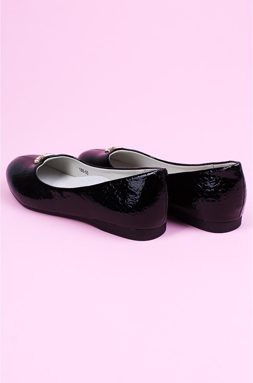 Туфли детские черные 185-55
