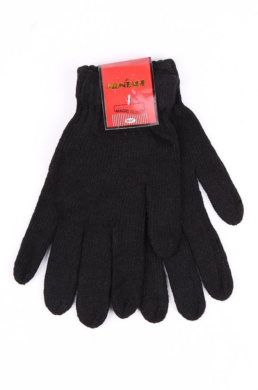 Перчатки мужские черные 099