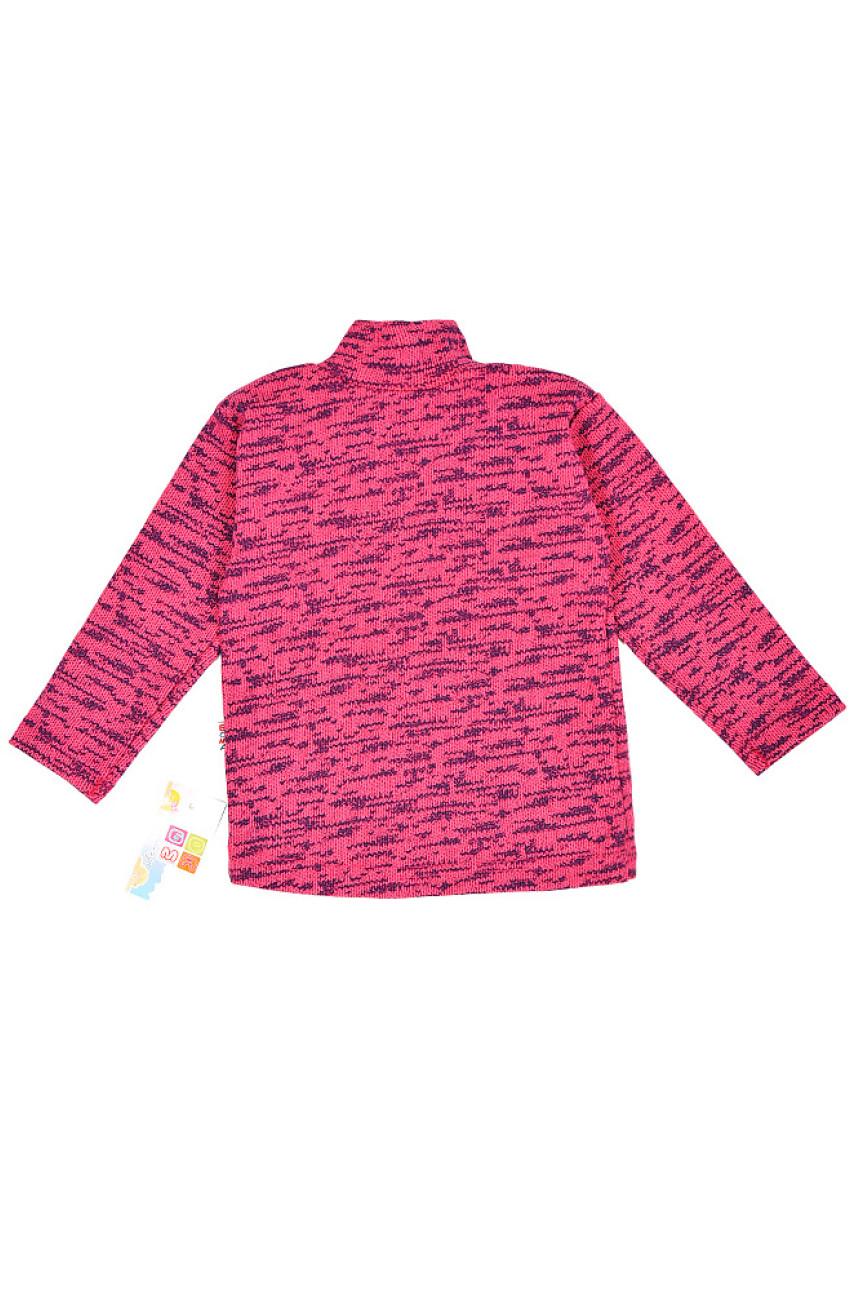 Гольф на флисе детский розовый 0440-13
