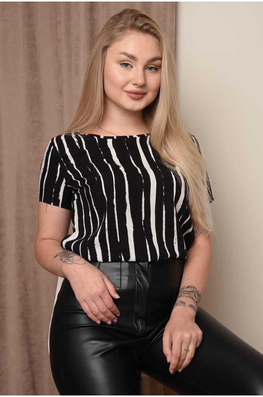 Блуза женская черная 3160