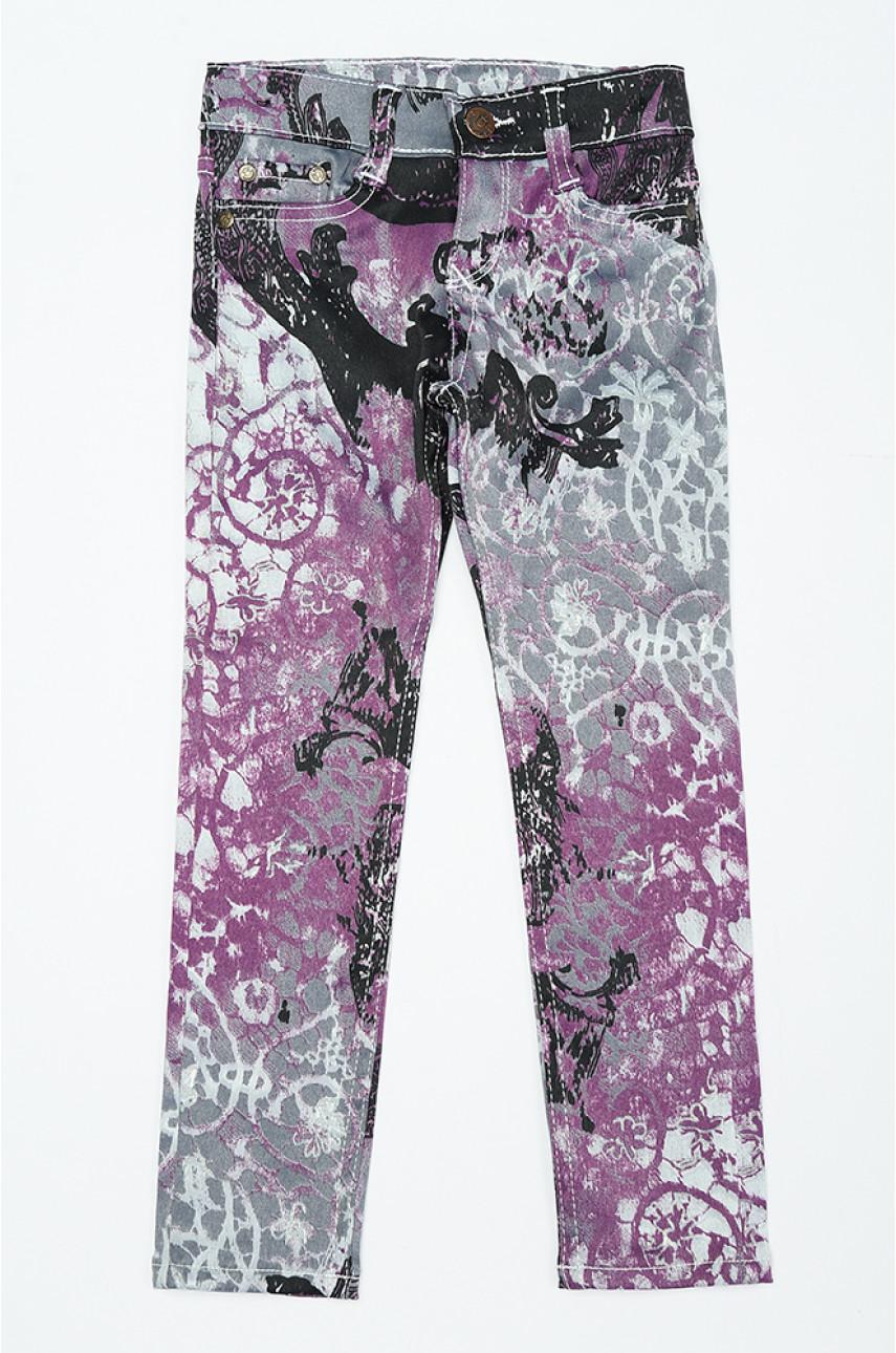 Штаны детские фиолетовые 31701