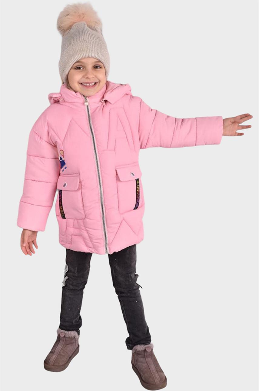 Куртка детская розовая С-3
