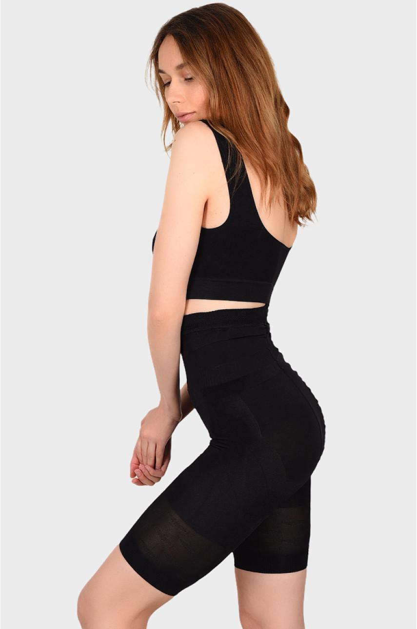 Бриджи женские утяжка черные размер XL 824