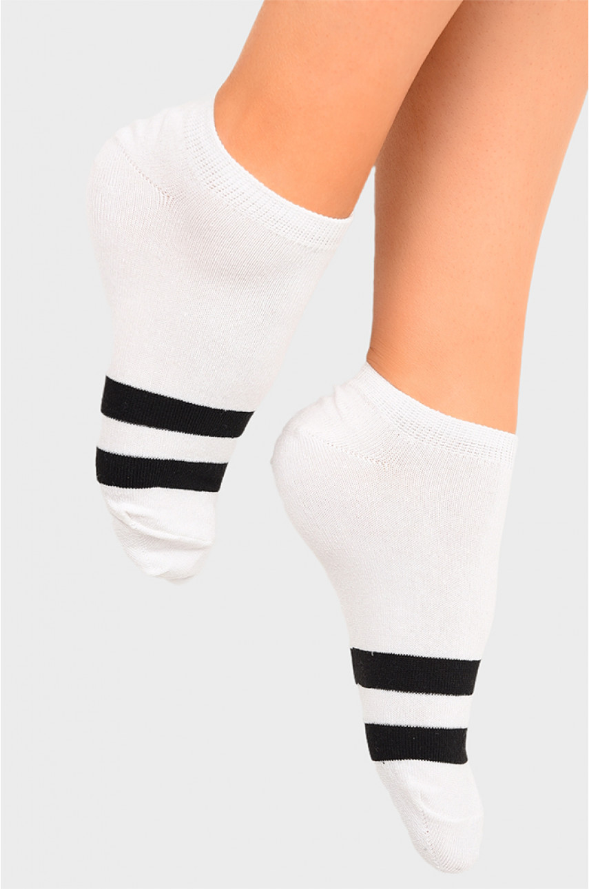 Носки женские спортивные белые размер 36-40 1920