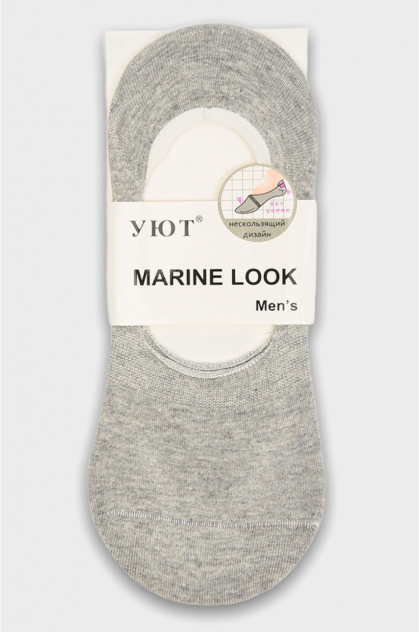 Носки-следы мужские серые размер 41-47 2266