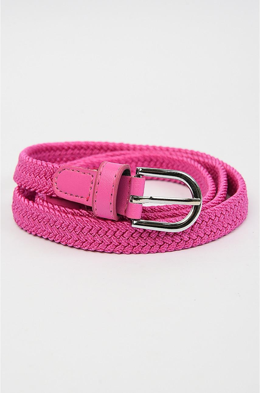 Ремень женский розовый размер 99 см