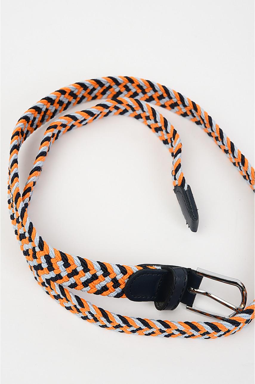 Ремень женский оранжевый размер 100 см