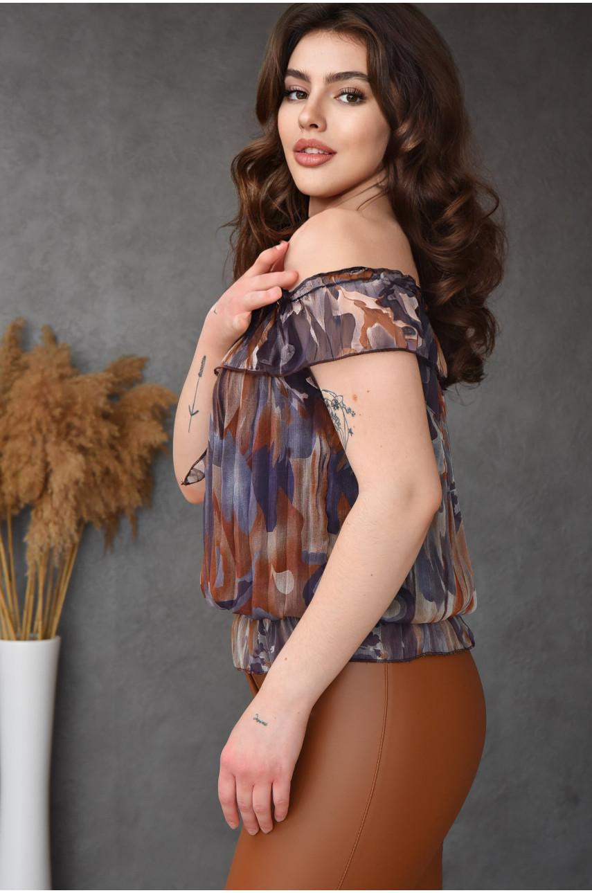 Блуза женская серая размер 42-44 9923-1