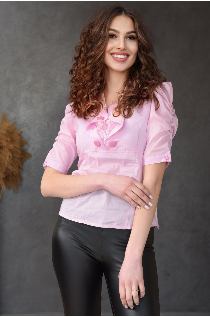 Блуза женская розовая 0206