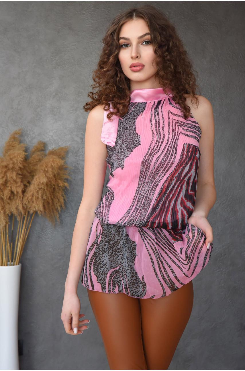 Туника женская розовая размер 42-44 13599-2