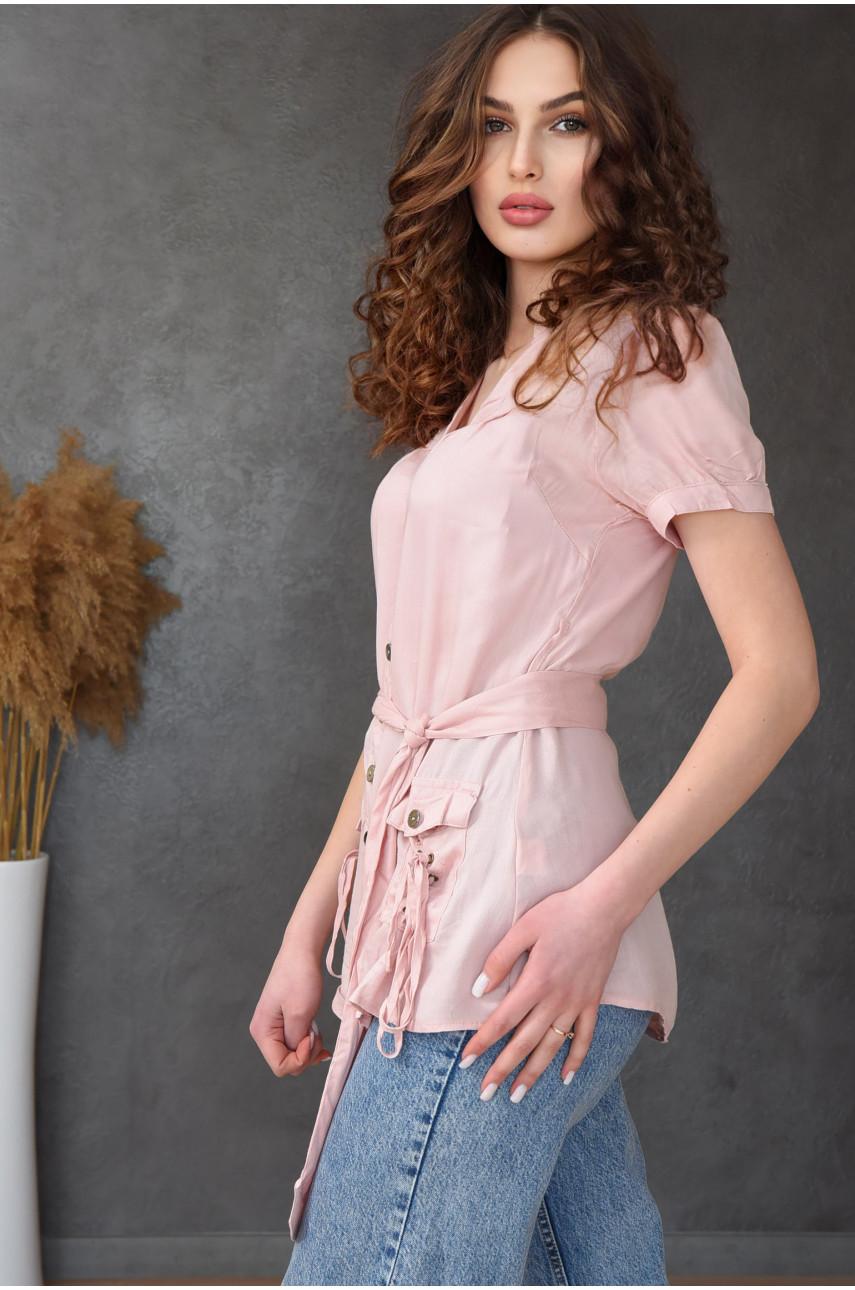 Блузка женская пудра 0232-4
