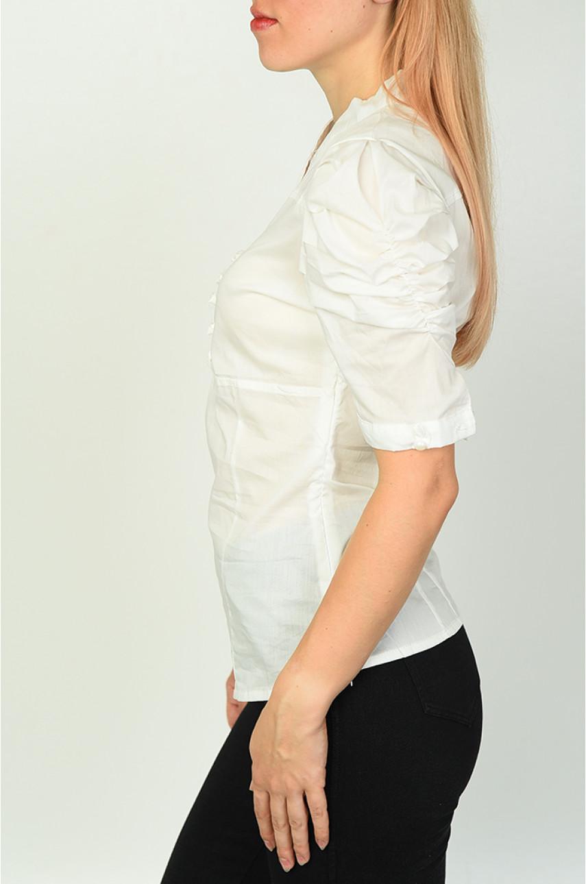Блуза женская белая 0209-1