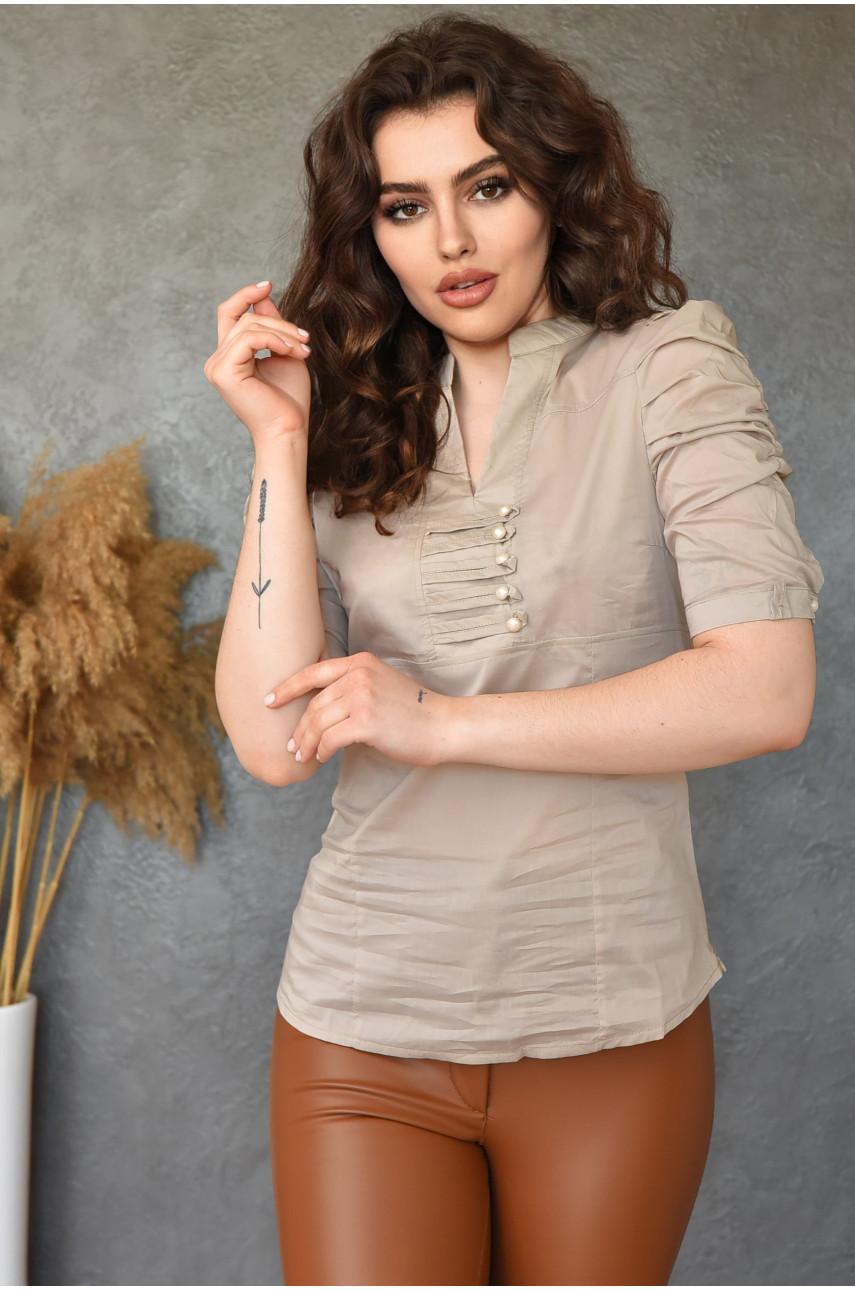 Блуза женская серая 0209-4