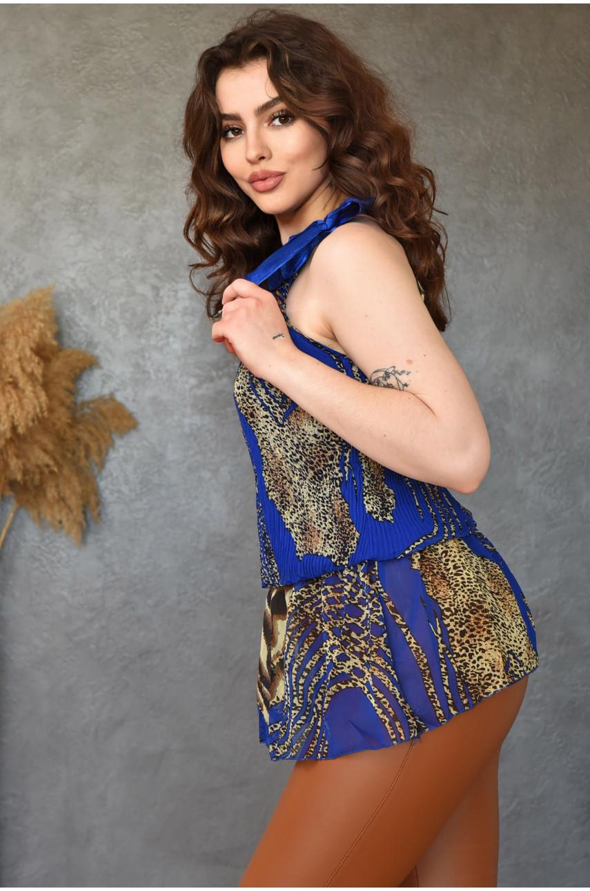 Туника женская синяя размер 42-44 13599-7