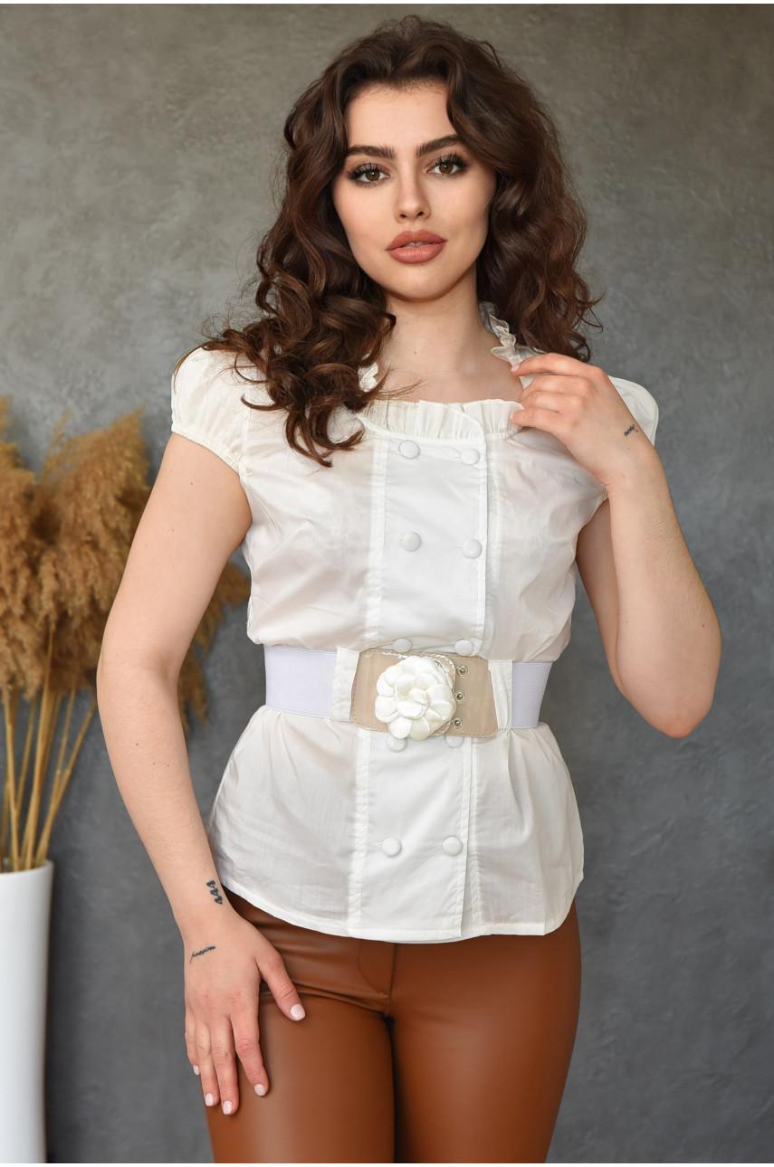 Блуза женская молочная 0207-3