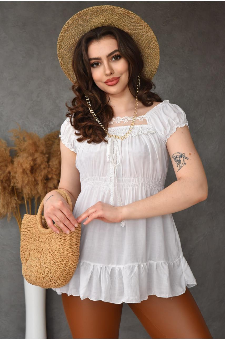 Туника женская белая 009-1