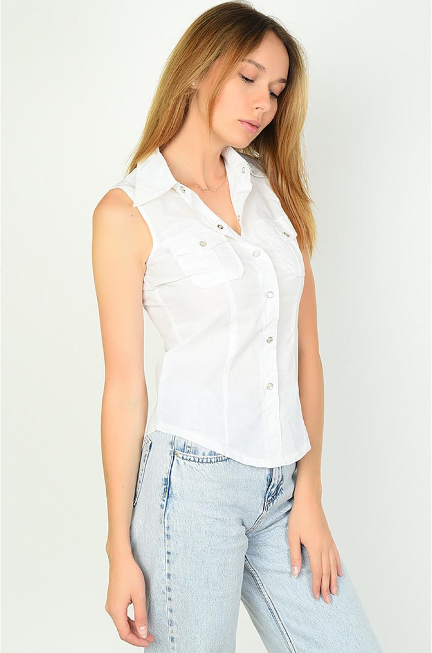 Рубашка женская белая 161-4
