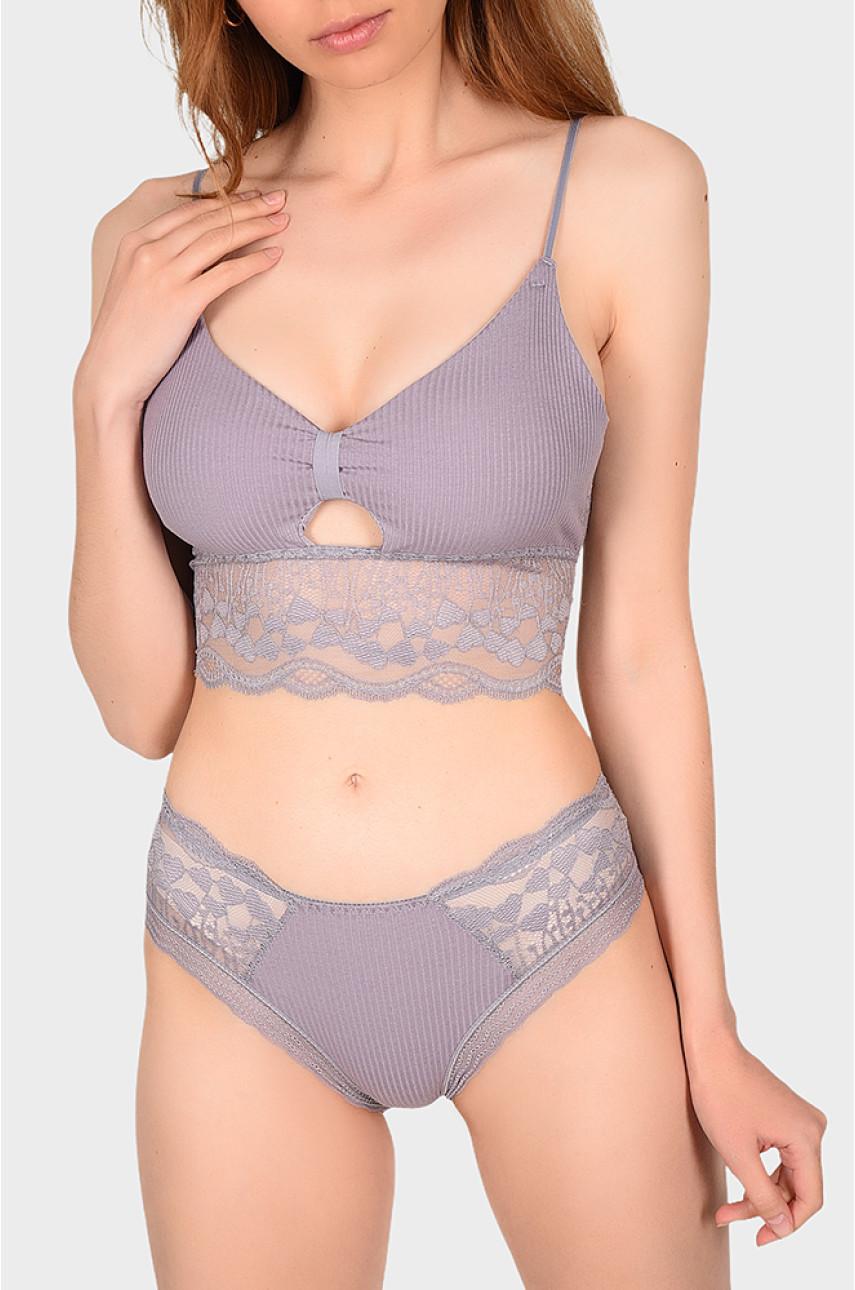 Комлект женский фиолетовый размер 42-44 069