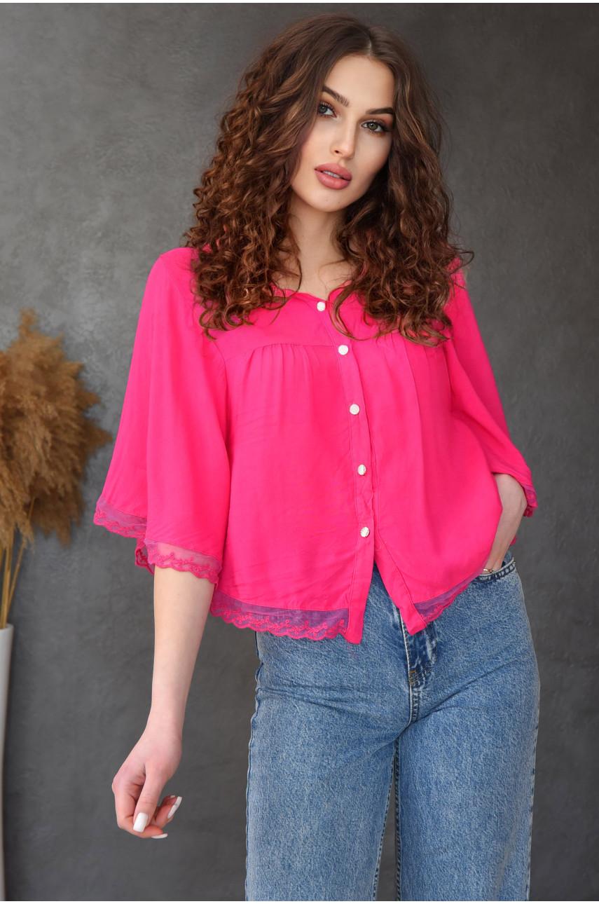 Блуза женская малиновая 8008-7