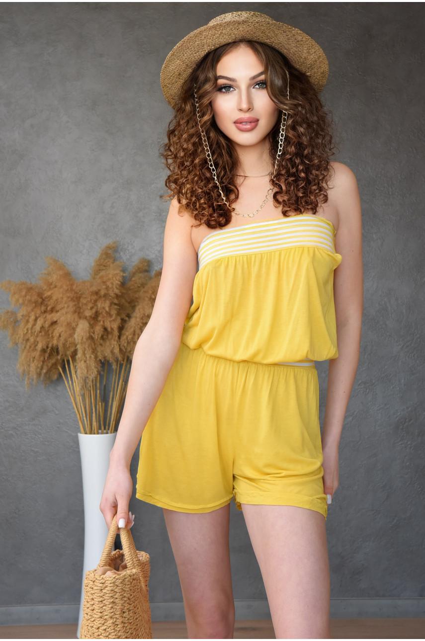 Комбинезон женский желтый 0287-3