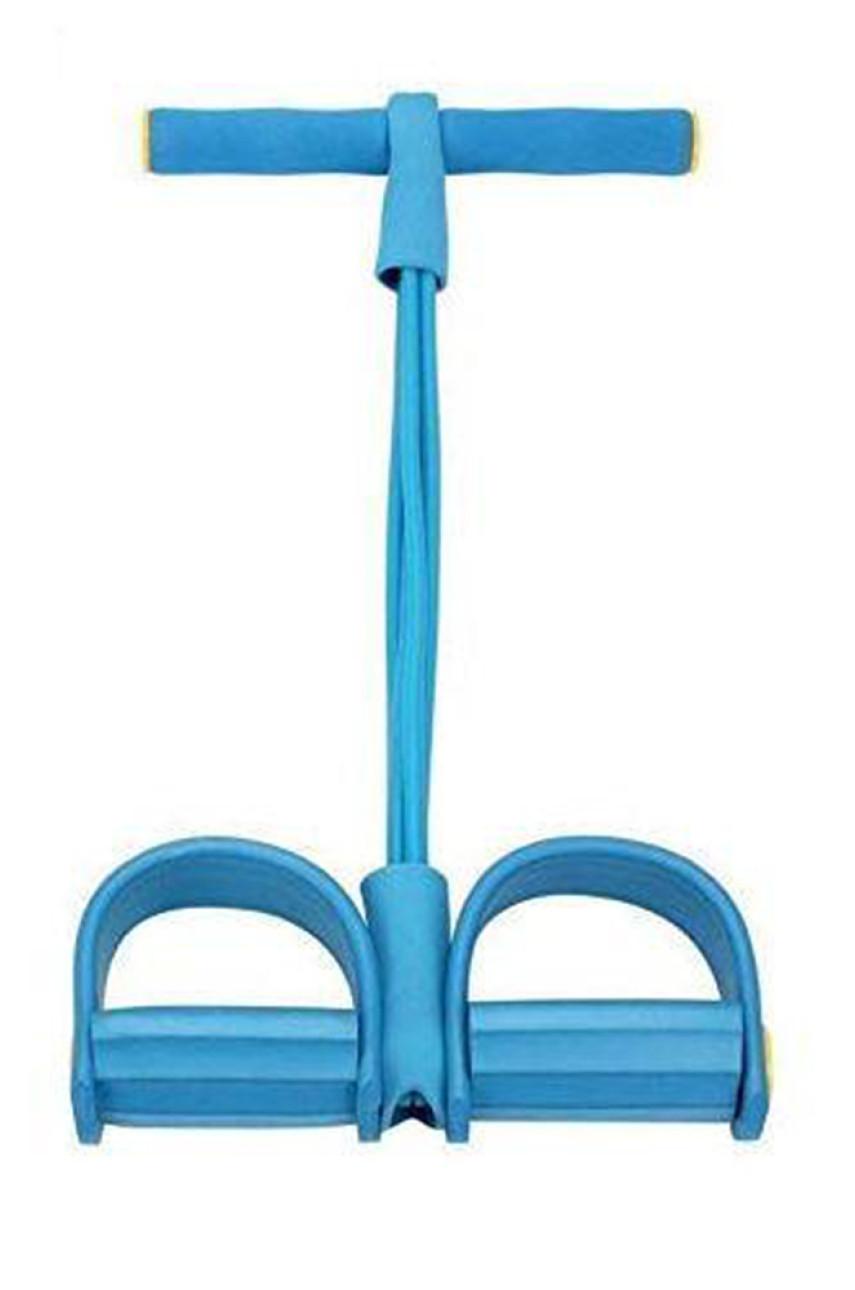 Многофункциональный тренажер для фитнеса Pull Reducer голубой 927