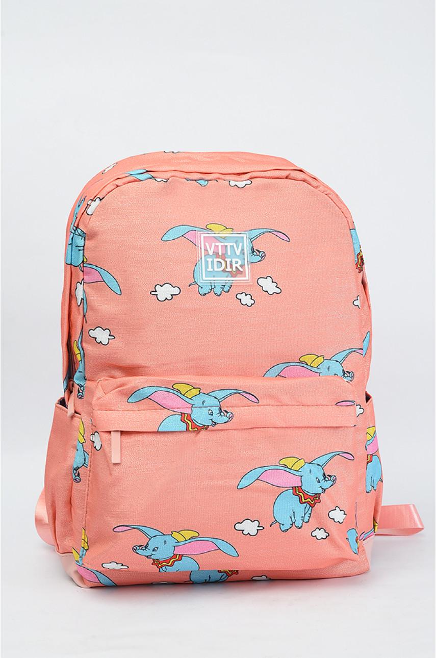 Рюкзак детский оранжевый 7913
