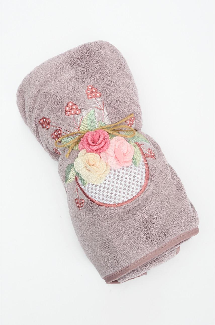 Полотенце для лица фиолетовое 998-187-5