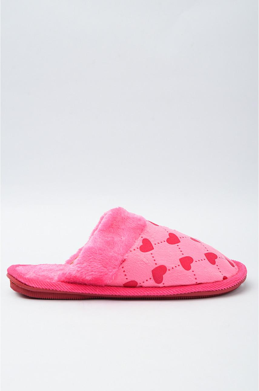 Тапочки домашние детские розовые