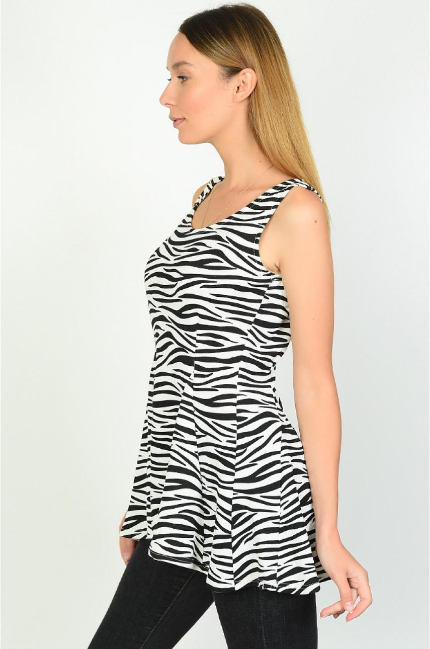 Туника женская зебра размер 42-44 801-1