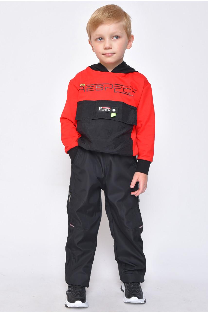 Спортивные штаны детские черные 76