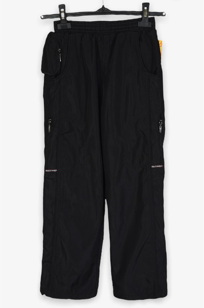 Спортивные штаны подросток черные 76