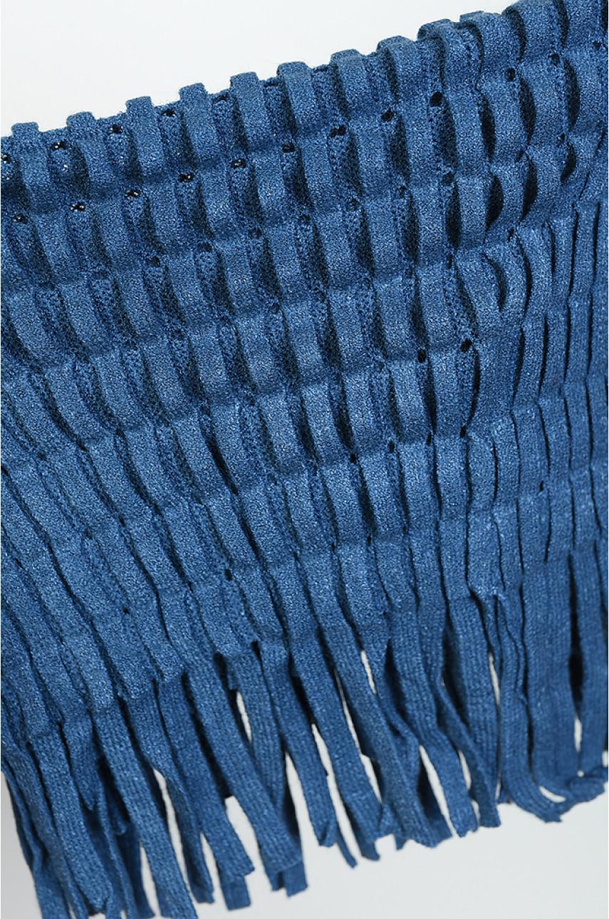 Хомут женский синий размер 36 х 25 9062-3 138641
