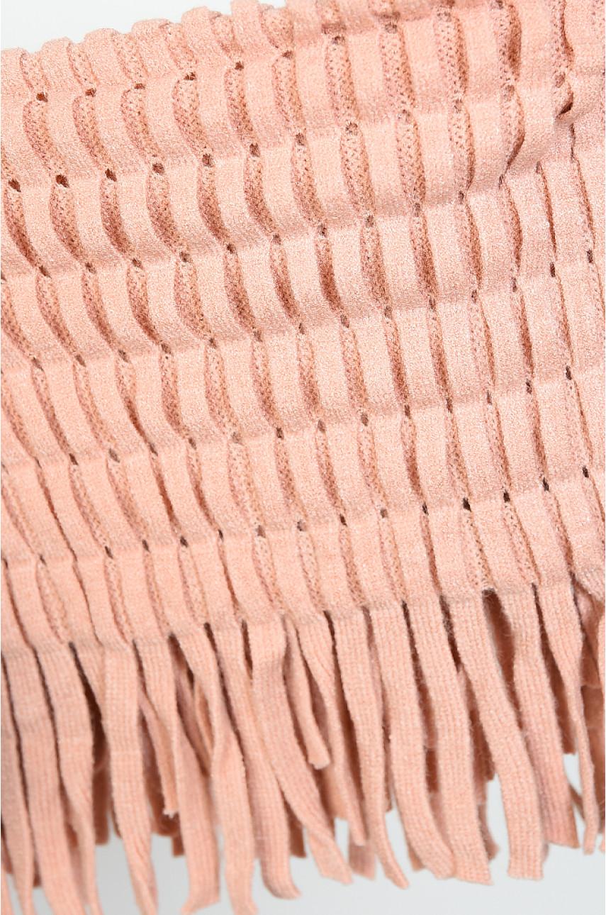 Хомут женский персиковый размер 36 х 25 9062-4 138642